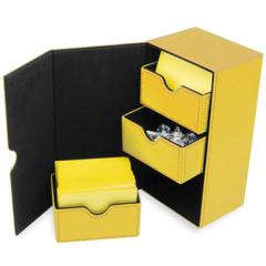BCW Deck Vault - LX - 200 - Yellow (1-DVLX-200-YLW)