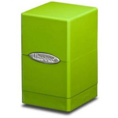 Satin Tower Deck Box Lime Green