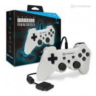 Brave Warrior Premium Controller for PS2 (White) Hyperkin