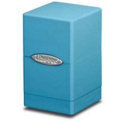 Satin Tower Deck Box Light Blue