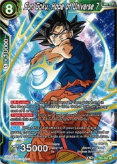 Son Goku, Hope of Universe 7 (Foil) SR
