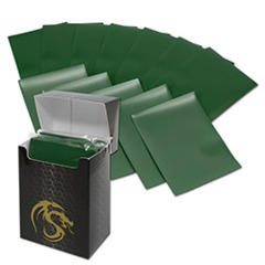 BCW Deck Guards Double Matte (80 ct.) - Green