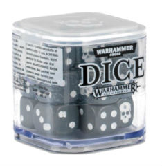 Warhammer 40,000 Dice: Grey