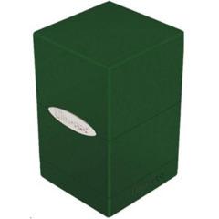 Satin Tower Deck Box Green