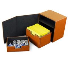 BCW Deck Vault - LX - 100 - Orange (1-DVLX-100-ORG)