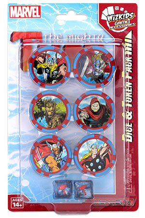 Marvel Hc: The Mighty Thor Dice & Token Pack