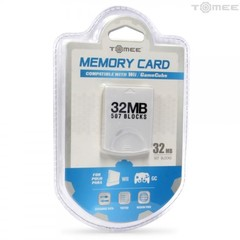 32MB Memory Card for Wii / GameCube Tomee