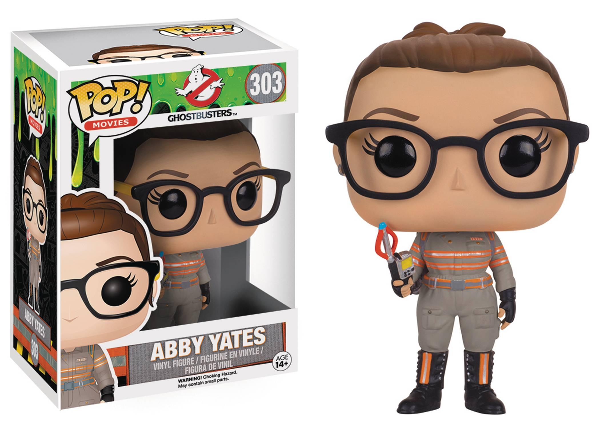 POP Ghostbuster 2016 Abby Yates Vinyl Figure