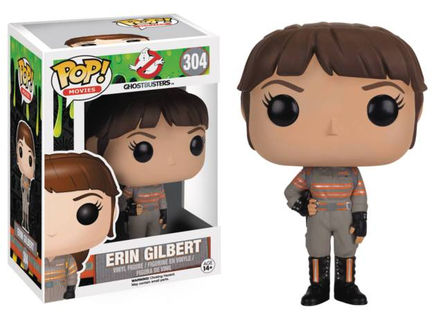 POP Ghostbusters 2016 Erin Gilbert Vinyl Figure