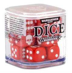 Warhammer 40,000 Dice: Red