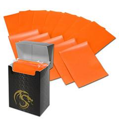 BCW Deck Guards Double Matte (80 ct.) - Orange
