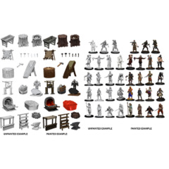 Wizkids Deep Cuts Minis: Townspeople & Accessories