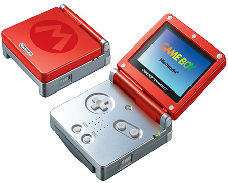 Nintendo Game Boy Advance SP Super Mario Bros 3 Special Edition
