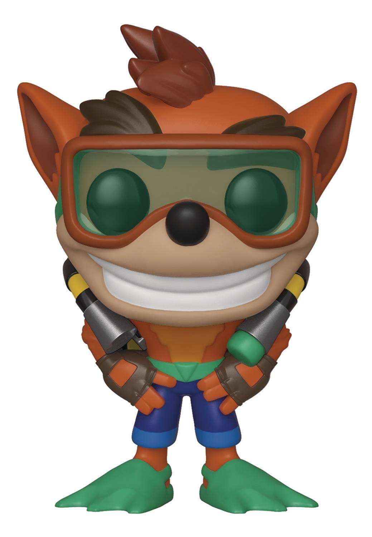 POP Games Crash Bandicoot With Scuba Gear Vinyl Figure (C: 1-1-2)