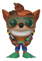 POP Games Crash Bandicoot With Scuba Gear Vinyl Figure (C: 1-1-2)