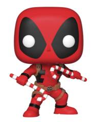 POP Marvel Deadpool w/ Candy Canes Vinyl Figure (C: 1-1-2)