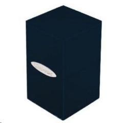 Satin Tower Deck Box Black