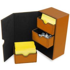 BCW Deck Vault - LX - 200 - Orange (1-DVLX-200-ORG)