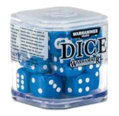 Warhammer 40,000 Dice: Blue