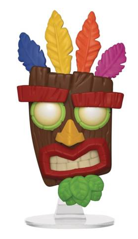 POP Games Crash Bandicoot S2 Aku Aku Vinyl Figure (C: 1-1-2)