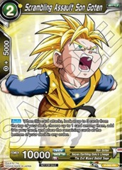 Scrambling Assault Son Goten