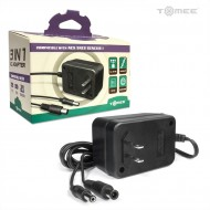 3-in-1 Universal AC Adapter for Genesis/SNES/NES Tomee