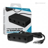 4-Port Controller Adapter for GameCube® compatible with Nintendo Switch®/ Wii U®/ PC/ Mac® - Hyperkin