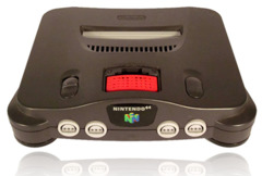 Nintendo 64 With Expansion & Controller