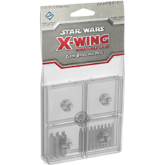 Star Wars: X-Wing Miniatures Game - Bases and Pegs Clear