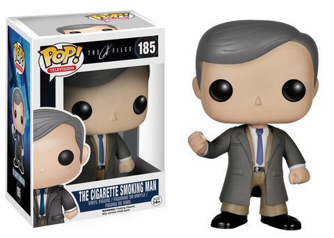 Funko POP Vinyl Figure Television The X-Files - The Cigarette Smoking Man 185 - VAULTED
