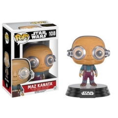 Funko POP Vinyl Bobble-Head Figure Star Wars The Force Awakens - Maz Kanata 108