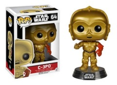 Funko POP Vinyl Bobble-Head Figure Star Wars The Force Awakens C-3PO 64