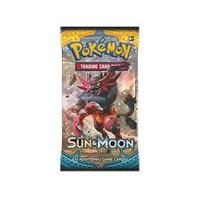 Pokemon Sun & Moon - Base Set Booster Packs