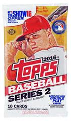 2016 Topps Series 2 Baseball Hobby Pack