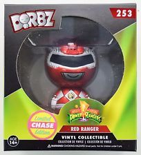 Funko Dorbz Vinyl Sugar Funko Specialty Series Mighty Morphin' Power Rangers - Red Ranger 253 - CHASE