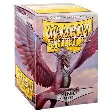 Dragon Shield Card Sleeves Box of 100 in Matte Pink