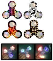 Original Authentic - Top Trenz Spinner Squad - Fidget Spinner - LED Spinner Light Up