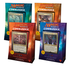 Commander 2017: Set of 4