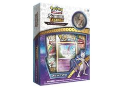 Pokemon Shining Legends Pin Box - Mewtwo