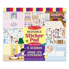 Reusable Sticker Pad - Play House - Ages 3+