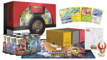 Shining Legends Super-Premium Collection Box