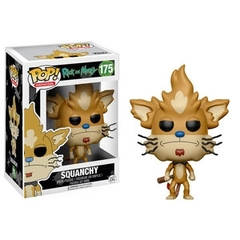 Funko POP Animation Vinyl Figure Rick and Morty - Squanchy 175