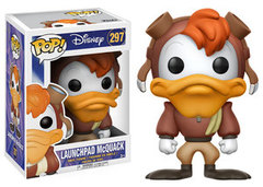 Funko POP Vinyl Figure Disney Darkwing Duck - Launchpad McQuack 297
