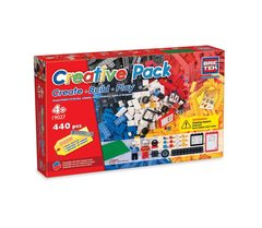 BricTek - Create * Build * Play * - Creative Pack 440 pcs - Ages 4+