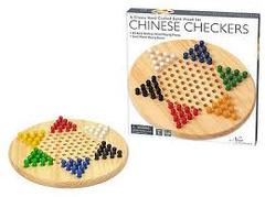 New Entertainment - Solid Wood Chinese Checkers