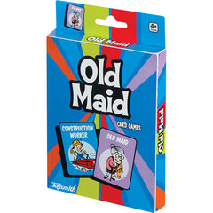 Toysmith Classic Card Games - Old Maid - Ages 3+