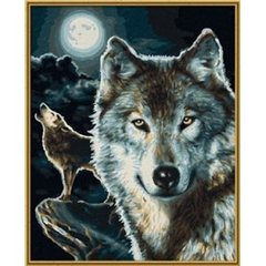 Masterpiece Classics Painting by Number - Wolves