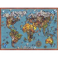 Anatolian Puzzles  Puzzle: 1000 Butterfly World Map