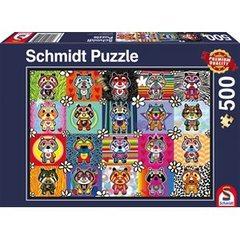 Schmidt Spiele Puzzles Puzzle: 500 Tantan & Momo