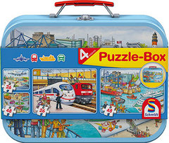 Puzzle-Box vehicles- 3+- 56508